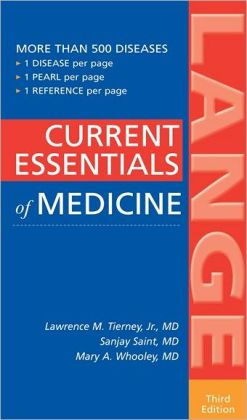 CURRENT Essentials of Medicine, Third Edition