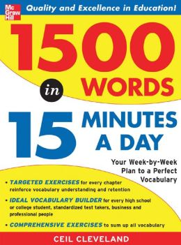 1,500 Words in 15 Minutes a Day