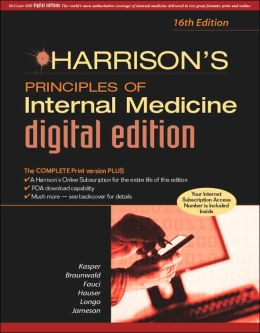 Harrison's Principles of Internal Medicine, Digital Edition: Single Volume + Harrison's Online for Life of the Ed.