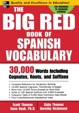 Big Red Book of Spanish Vocabulary