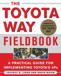 Toyota Way Fieldbook: A Practical Guide for Implementing Toyota's 4Ps