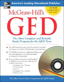 McGraw-Hill's GED with CD-Rom: The Most Complete and Reliable Study Program for the GED Tests