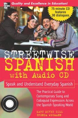 Streetwise Spanish with Audio CD