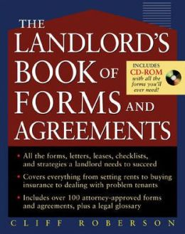 Mon premier blog the landlords book of forms and agreements cliff roberson fandeluxe Images