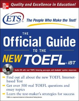 The Official TOEFL Prep Guide with Audio CD
