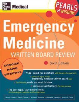 Emergency Medicine Written Board Review: Pearls of Wisdom, Sixth Edition