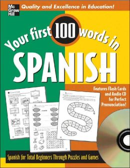 Your First 100 Words Spanish CD Set