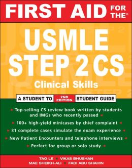 First Aid for the USMLE Step 2 CS 2007