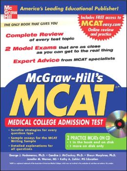 McGraw-Hill's New MCAT: Medical College Admission Test