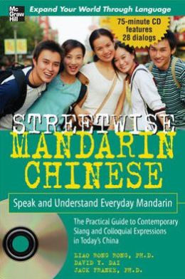 Streetwise Mandarin Chinese (Book+ Audio CD)