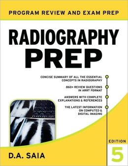 Radiography PREP, Program Review and Examination Preparation