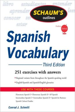 Schaum's Outline of Spanish Vocabulary