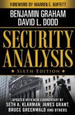 Book Cover Image. Title: Security Analysis:  Sixth Edition, Foreword by Warren Buffett, Author: Benjamin Graham