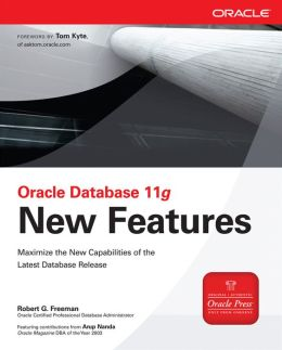 Oracle Database 11g New Features