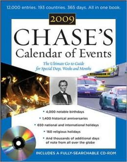 Calendar of Events 2009: The Ulitmate Go-To Guide for Special Days, Weeks, and Months