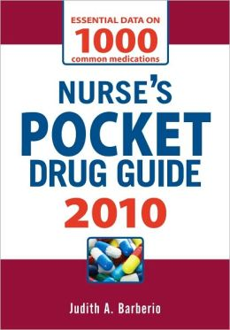 Nurse's Pocket Drug Guide, 2010
