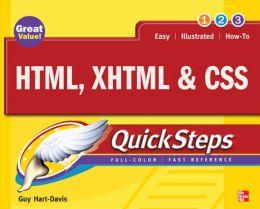 HTML, XHTML & CSS QuickSteps