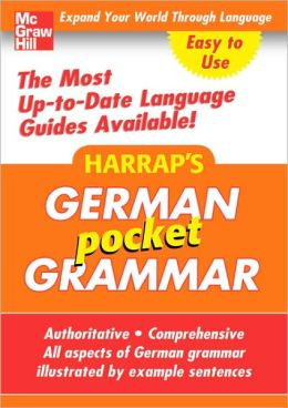 Harrap's Pocket German Grammar