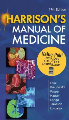 Harrison's Manual of Medicine 17/e Book/Mobile Valuepack