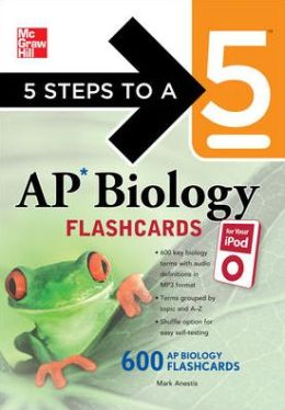 5 Steps to a 5 AP Biology Flashcards for Your iPod with MP3/CD-ROM Disk