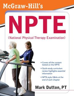 McGraw-Hill's NPTE (National Physical Therapy Examination)