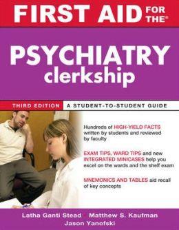 The Psychiatry Clerkship
