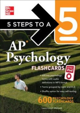 5 Steps to a 5 AP Psychology for your iPod with MP3 Disk