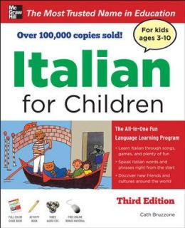 Italian for Children with Two Audio CDs
