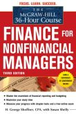 Book Cover Image. Title: The McGraw-Hill 36-Hour Course:  Finance for Non-Financial Managers 3/E, Author: H. George Shoffner