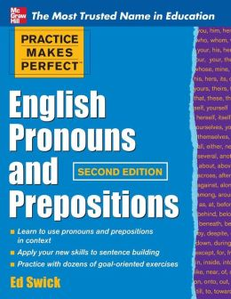 English Pronouns and Prepositions