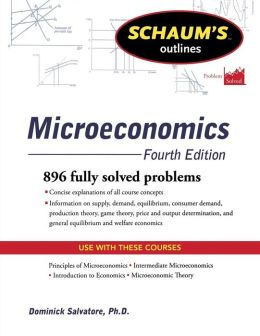 Schaum's Outline of Microeconomics