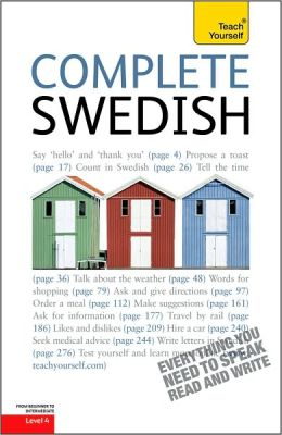 Complete Swedish: A Teach Yourself Guide