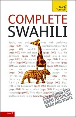 Complete Swahili: A Teach Yourself Guide
