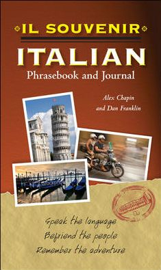 Il souvenir Italian Phrasebook and Journal