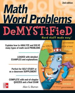 Math Word Problems Demystified 2/E