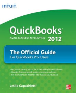 QuickBooks 2012 The Official Guide