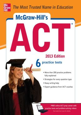 McGraw-Hill's ACT, 2013 (EBOOK)