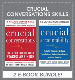 Crucial Conversations Skills (EBOOK BUNDLE) (Enhanced Edition)