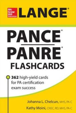 Lange PANCE/PANRE Flashcards