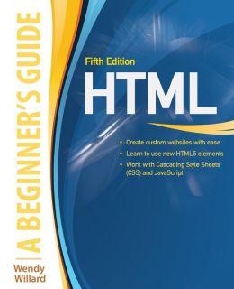 HTML5 A Beginners Guide 5/E