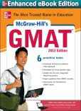 Book Cover Image. Title: McGraw-Hill's GMAT, 2013 Edition (Enhanced Edition), Author: James Hasik