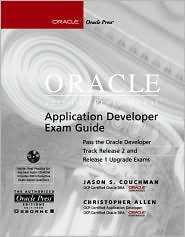 Oracle Certified Professional Application Developer Exam Guide