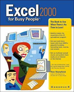 Excel 2000 for Busy People