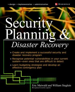 Security Planning and Disaster Recovery
