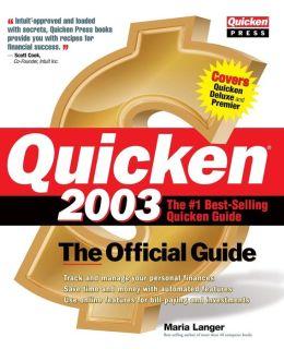 Quicken(R) 2003