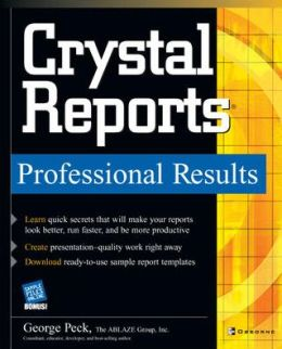 Crystal Reports, Professional Results