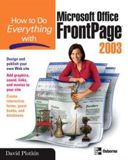 How to Do Everything with FrontPage 2003