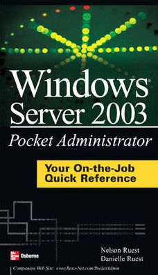 Windows Server 2003 Pocket Administrator