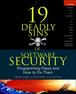 The 19 Deadly Sins of Software Security