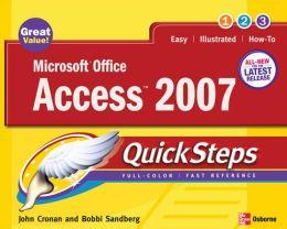 Microsoft Office Access 2007 QuickSteps